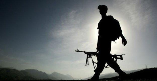 Ovacık'ta 1 asker hayatını kaybetti