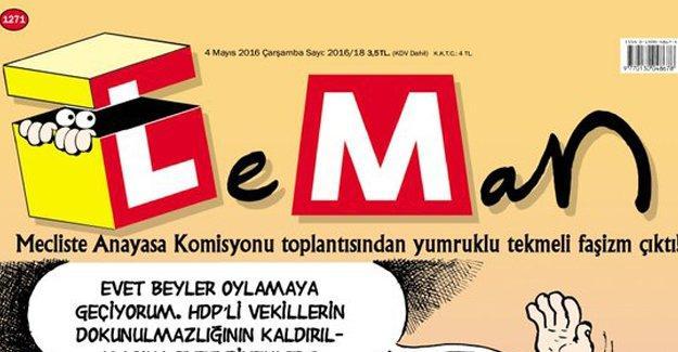 Leman'ın kapağında 'dokunulmazlık' görüşmeleri