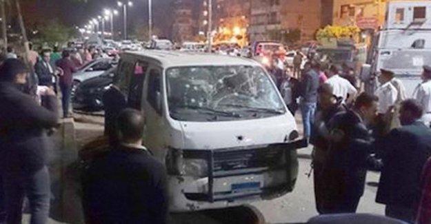 Mısır'da polise silahlı saldırı