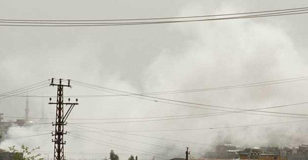 Nusaybin'de şiddetli çatışmalar ve yoğun bombardıman