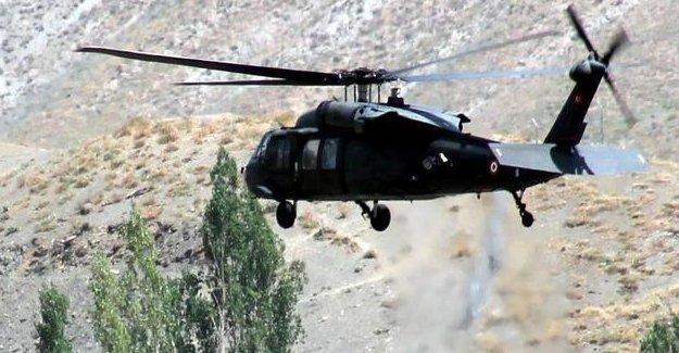 TSK'dan Çukurca'da 'düşen' helikopter açıklaması