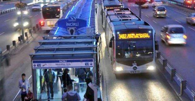 İstanbul'a yeni metrobüs hattı geliyor