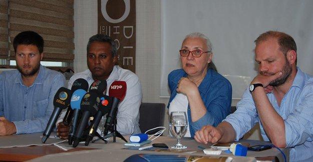 Sur'da incelemelerde bulunan Af Örgütü heyetinden açıklama