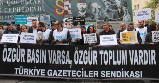 TGS: Türkiye'de basın özgürlüğü yok, kutlanacak gün de yok