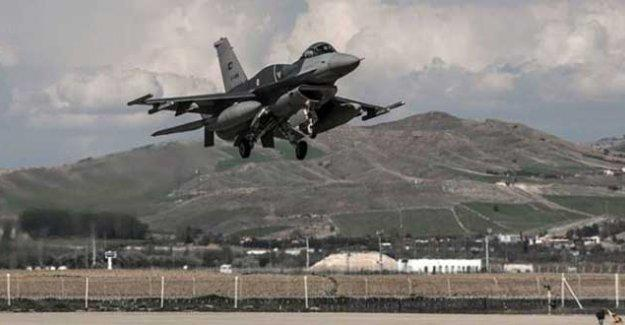 TSK'dan PKK'ye hava saldırısı