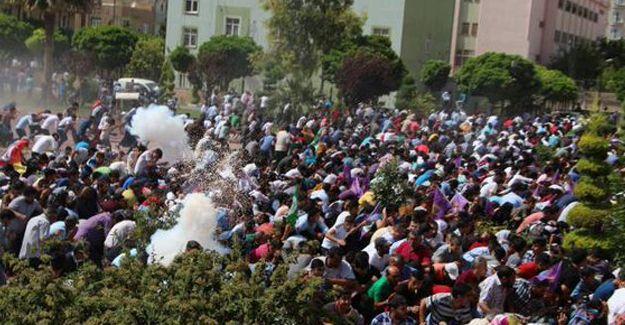 Yüksekdağ'ın katıldığı halk buluşmasına polis saldırısı