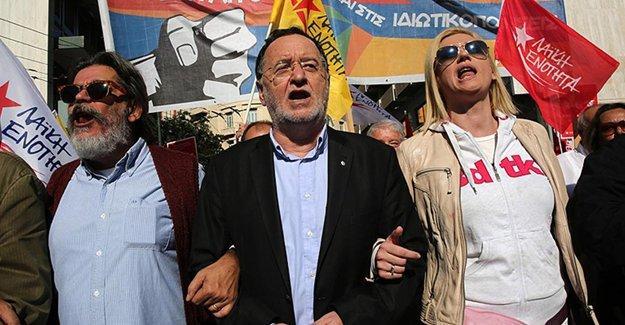 Yunanistan'da toplu ulaşım çalışanları grevde