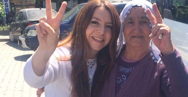 77 yaşındaki 'Sise nine' tahliye edildi