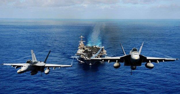ABD IŞİD'i Akdeniz'den vurdu
