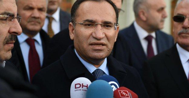 Adalet Bakanı Bozdağ: 117 dokunulmazlık dosyası savcılıklara gönderildi