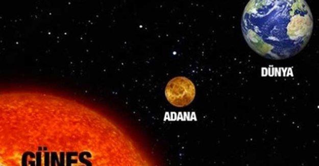 Adanalılara uyarı: Güneşe ateş etmeyin!