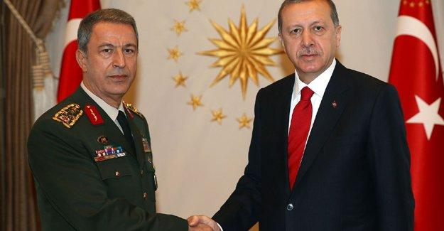 Cumhurbaşkanı Erdoğan, Genelkurmay Başkanı ile Mardin'e gitti