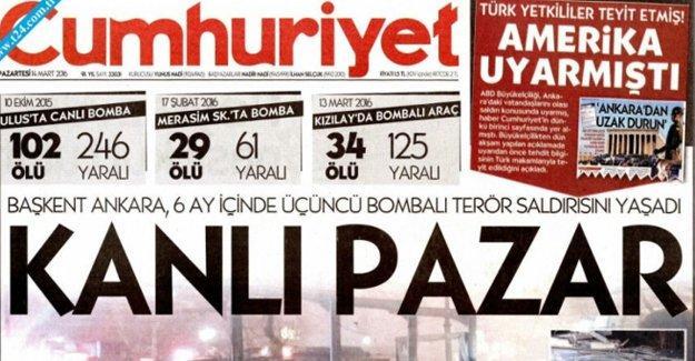 """Cumhuriyet'e """"Kanlı Pazar"""" soruşturması"""