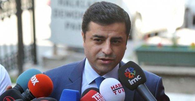 Demirtaş programını iptal etti, Antep'e gidiyor