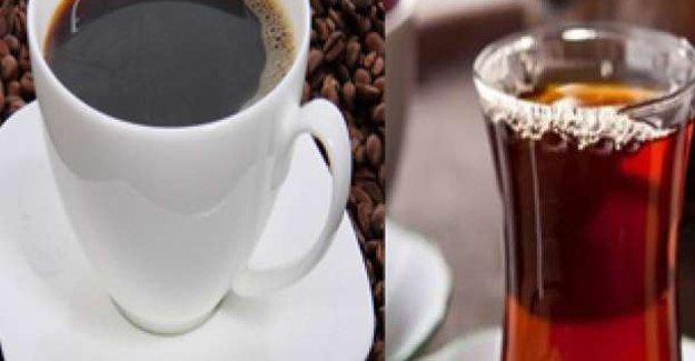 Dünya Sağlık Örgütü'nden kahve ve çay uyarısı