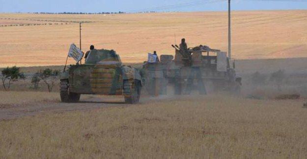 El Şeria kavşağı IŞİD'den kurtarıldı