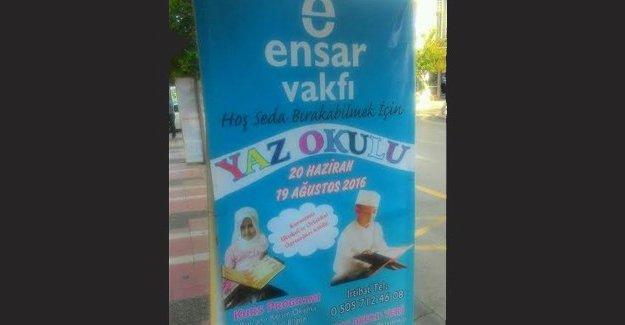 Ensar Vakfı Manisa'da 'yaz okulu' açmaya hazırlanıyor!