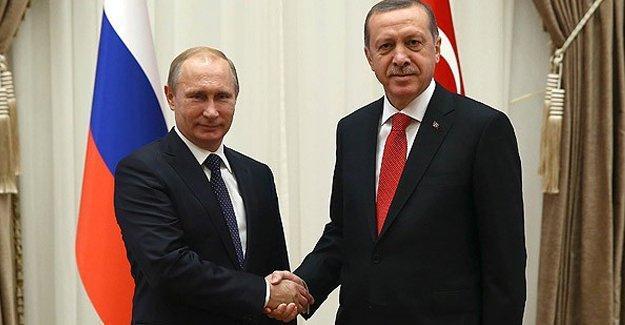 Erdoğan'dan Putin'e mektup