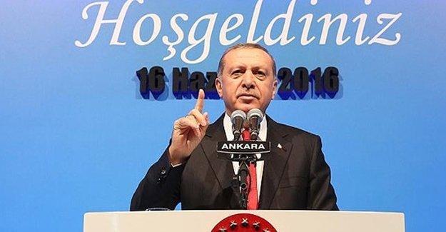 Erdoğan: Türkiye'de bir iç savaş yoktur