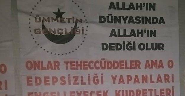 Eskişehir'de LGBTİ'leri hedef gösteren afişler asıldı