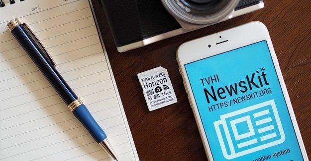 Foto muhabirleri ve video destekli habercilik için NewsKit Horizon