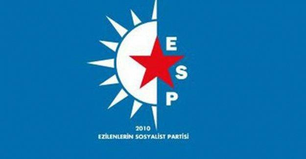 16 ESP üyesine tutuklama talebi