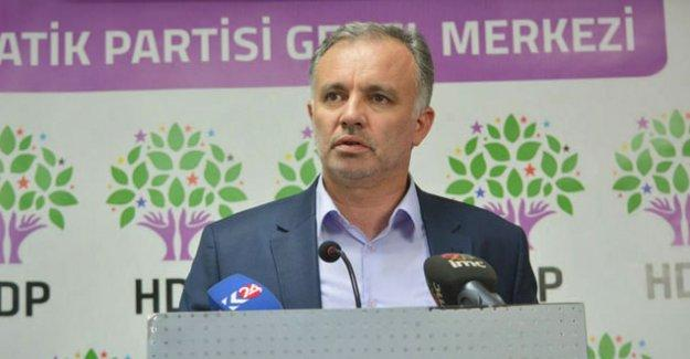 HDP Milletvekili Ayhan Bilgen de ifadeye çağrıldı