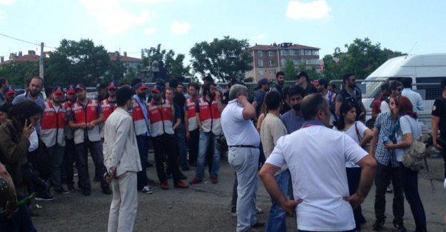 HDP'nin İstanbul Mitingi'nde dağılan kitleye polis saldırısı