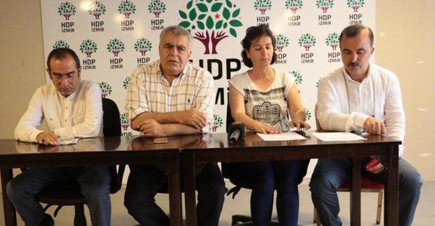 HDP'nin İzmir mitingi yasaklandı