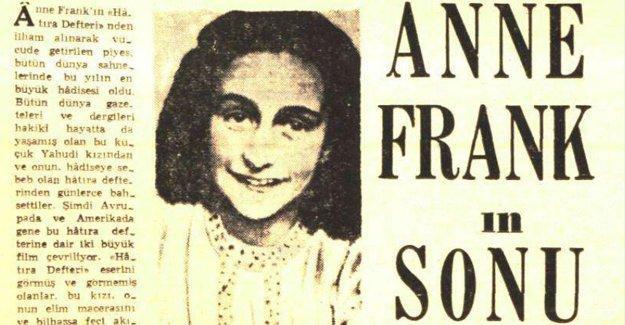 Holokost'ta hayatını kaybeden Anne Frank'ın Türkiye'deki yankıları
