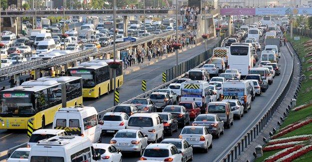 İstanbul'da pazar günü bazı yollar trafiğe kapalı