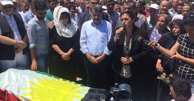 Kürt siyasetçi Feridun Yazar doğduğu topraklarda son yolculuğuna uğurlandı