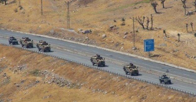 Lice'ye yasağın ardından askeri sevkiyat