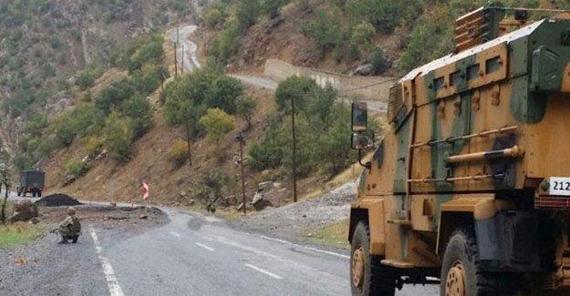 Siirt'te çatışma: 1 asker hayatını kaybetti