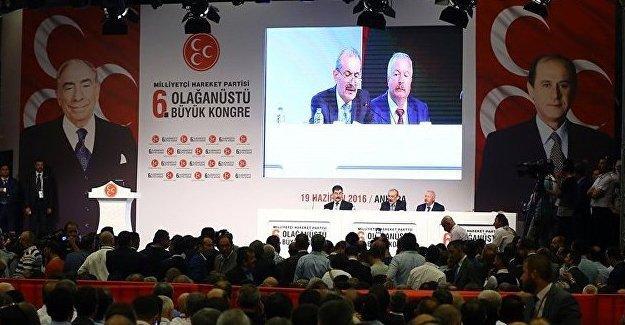 MHP'de delege sayısı krizi