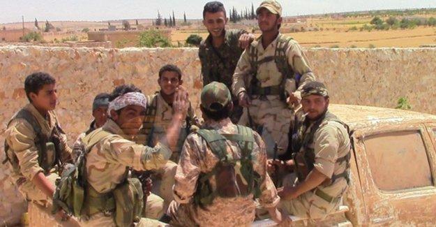 Minbiç'de üniversite ile 4 köy IŞİD'den alındı