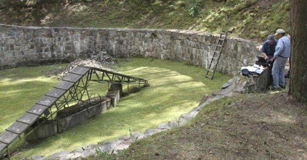 'Nazilerden kaçış tüneli' bulundu