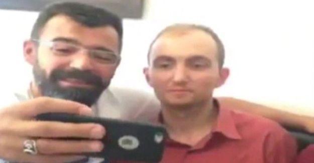 Polisler Atalay Filiz ile selfie çekti!