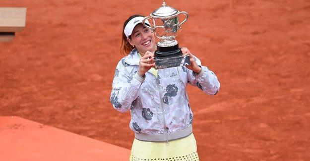 Roland Garros'ta şampiyon Garbine Muguruza