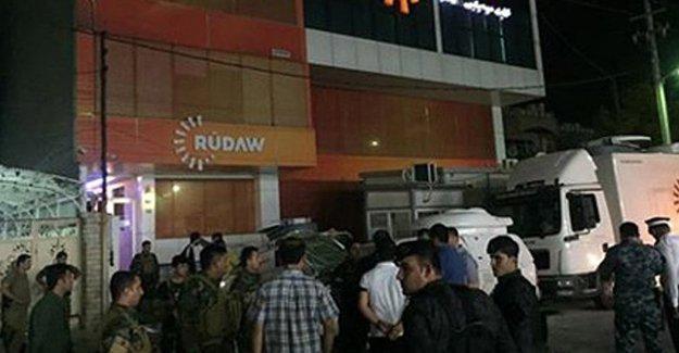 Rudaw Medya Grubu'na bombalı saldırı