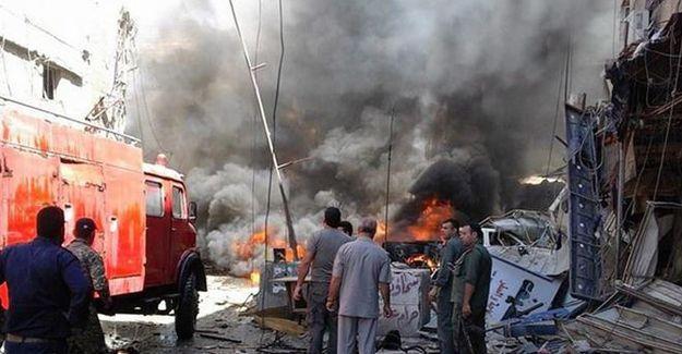 Suriye'nin başkenti Şam'da iki ayrı saldırı