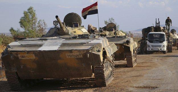Suriye ordusu, Halep operasyonuna başladı