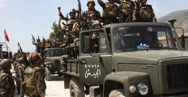 Suriye ordusu Rakka'nın sınırlarına girdi