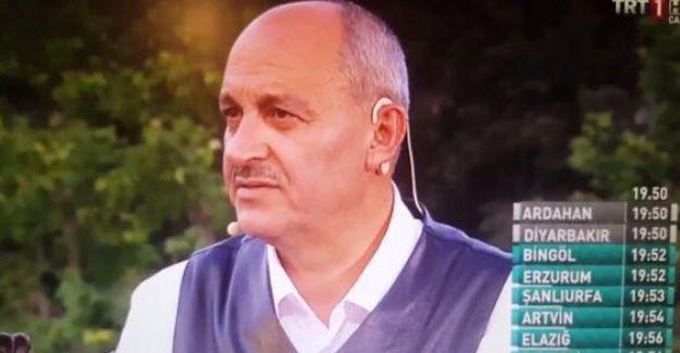 """TRT'nin iftar programından: """"Namaz kılmayan hayvandır"""""""