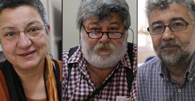 Tutuklu yayın yönetmenleri için 'Özgürlük Nöbeti' başladı