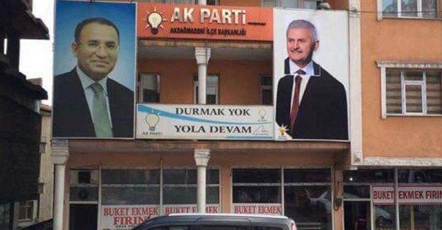 Ahmet Davutoğlu'ya Binali Yıldırım montajı