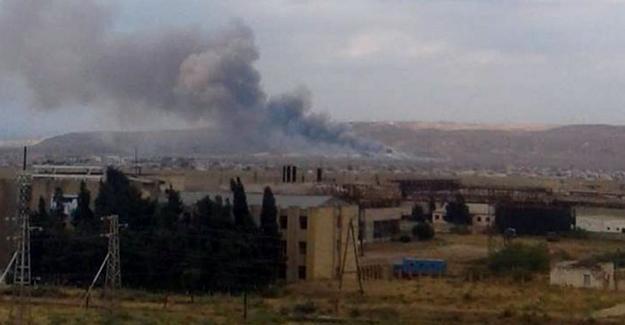 Azerbaycan'da silah fabrikasında patlama