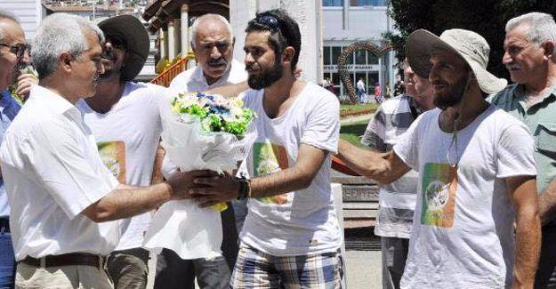 Barış yürüyüşçüleri Sakarya'ya varmak üzereler
