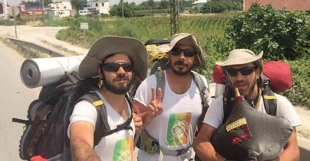 Barış yürüyüşünün 8. günü: Sakarya Geyve'den yola devam