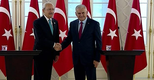 Başbakan ve CHP lideri Kılıçdaroğlu'ndan ortak açıklama